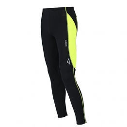 AIRTRACKS FUNKTIONS LAUFHOSE LANG PRO AIR / RUNNING HOSE / TIGHT / KOMPRESSION / REFLEKTOREN - L - schwarz-neon - 1