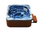 American Whirlpool Outdoor 215x215cm ! Außenwhirlpool 5 Personen - 3