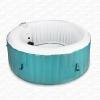 AQUAPARX Whirlpool AP-800SPA *rund Ø 180cm* Pool 4Personen Wellness Spa Whirlpoolzubehör Badewanne Wanne 4P Indoor Outdoor Heizung aufblasbar - 1