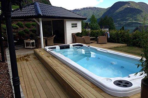 Aquatic 1 Schwimmspa Outdoor Whirlpool Spa / Balboa Steuerung / 3 Personen / Aussenwhirlpool - 4
