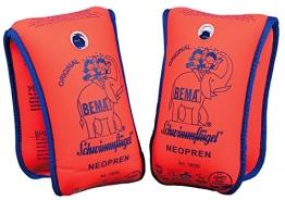 Bema 18004 - Happy People, Neopren Schwimmflügel, 11-30 kg, orange - 1
