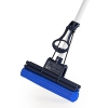 CleanAid OneTouch Easy Wischmop, Bodenwischer, Wringmop - besonders saugstark - mit PVA Schwamm und Teleskopstiel - 1