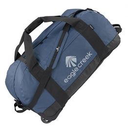 Eagle Creek Ultraleichte Reisetasche Sporttasche mit Rollen No Matter What Rolling Duffel, 76 cm, 105 L, Slate blau - 1