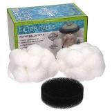 Filter Balls Kartuschen 2er Set I die alternative zu herkömmlichen Filterkartuschen A für Intex Pool oder Bestway Größe 3 - 1