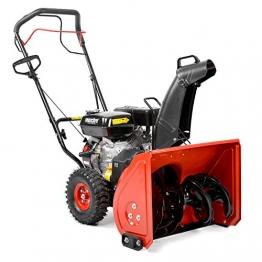 Hecht Benzin-Schneefräse 9022 Schneeschieber mit 56 cm Arbeitsbreite + Radantrieb 3,67 kW (5,0 PS) - 1