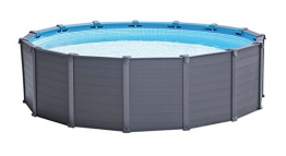 Intex 12353 Graphite Panel Pool, 478x124cm - 1