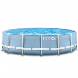 Intex 366x122 cm Schwimmbecken Swimming Pool Schwimmbad Frame Metal 28904 - 1