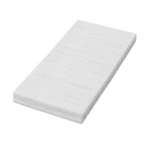 Kinderbett Jugendbett mit einer Schublade und Matratze Weiß ACMA II (160x80 cm + Schublade, Eiche Sonoma) - 2