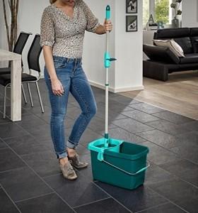 Leifheit 52052 Set Clean Twist Mop mit Rollwagen (ohne Spritschutz) - 6