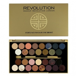 Makeup Revolution Fortune Favours The Brave 30 Lidschatten Eyeshadow Palette - 1