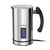 Milchaufschäumer VAVA 240ml 500W Elektrischer Flüssigkeitsaufheizer Milchschäumer mit Funktionen für Heiße und kalte Milch Geräuschloser Betrieb, Antihaftbeschichtung - 1