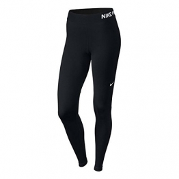 Nike Damen Pro Cool Trainings-Tights,  schwarz/weiß S - 1