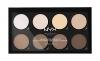 NYX Palette Highlight & Contour Pro, 1er Pack (1 x 22 g) - 1