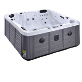 Outdoor Whirlpool Aussen LUXUS Gartenwhirlpool Wifi Balboa USA Direktvertrieb - 2