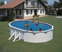 Pool-Set Feeling oval 500x300x120 cm weiß - 1