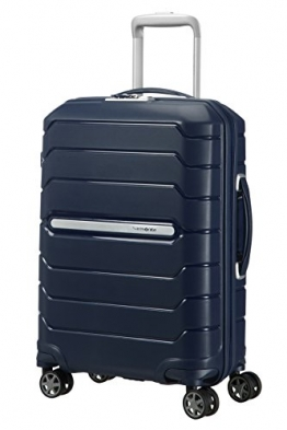 SAMSONITE Flux - Spinner 55/20 Expandable Bagage cabine, 55 cm, 44 liters, Navy Blau - 1