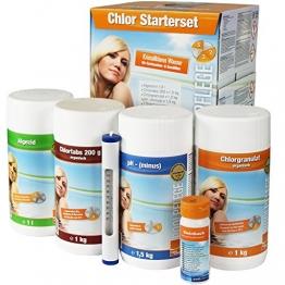 Starterset Wasserpflege mit Chlor, Aquacorrect - 1