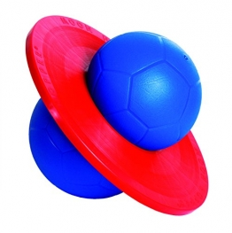Togu Hüpfball Moonhopper, blau/rot, 50x7,5 cm, 666900 - 1