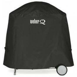 Weber Abdeckhaube Premium, schwarz, 25,7 x 6,4 x 30,7 cm, 7120 - 1