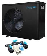 well2wellness Pool Wärmepumpe Heizpumpe Comfort Line BPN 12 - Poolheizung mit Einer Heizkapazität bis 12,5 kW + Bypass Set Basic - 1