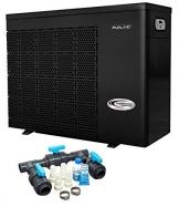 well2wellness Wärmepumpe Heizpumpe Full-Inverter Plus IPHC35 by Fairland® - Poolheizung mit Einer Heizkapazität bis 13,5 kW + Bypass Set Basic - 1